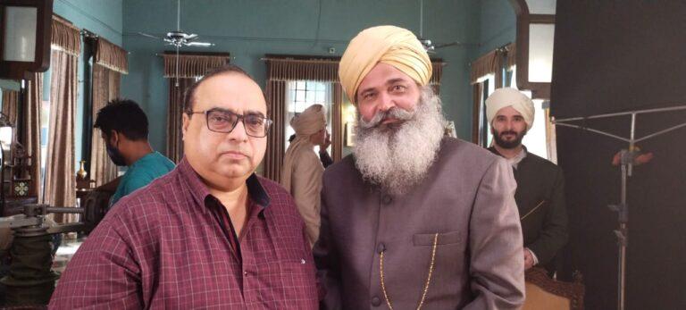 Rajesh Dubeay With Rajkumar Santoshi