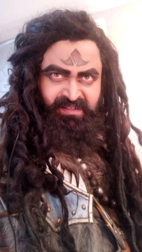 Rajesh Dubeay as Shrimad Bhagwat